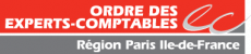 logo de l'ordre des experts comptables de paris île de France